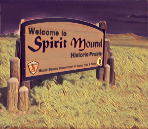 Compasses Will Temporarily Point To Spirit Mound