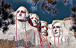 Officials Working Overtime to Stop Mt Rushmore Eye Bleeding