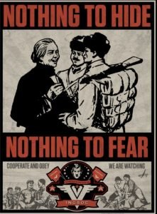 If you have nothing to hide you have nothing to fear