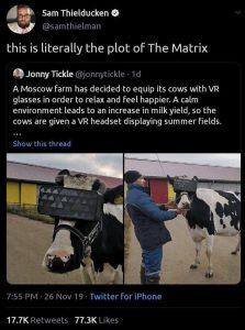 VR For Livestock Introduced