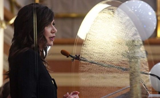 Governor Noem Unleashes Telecnetic Mind Shield