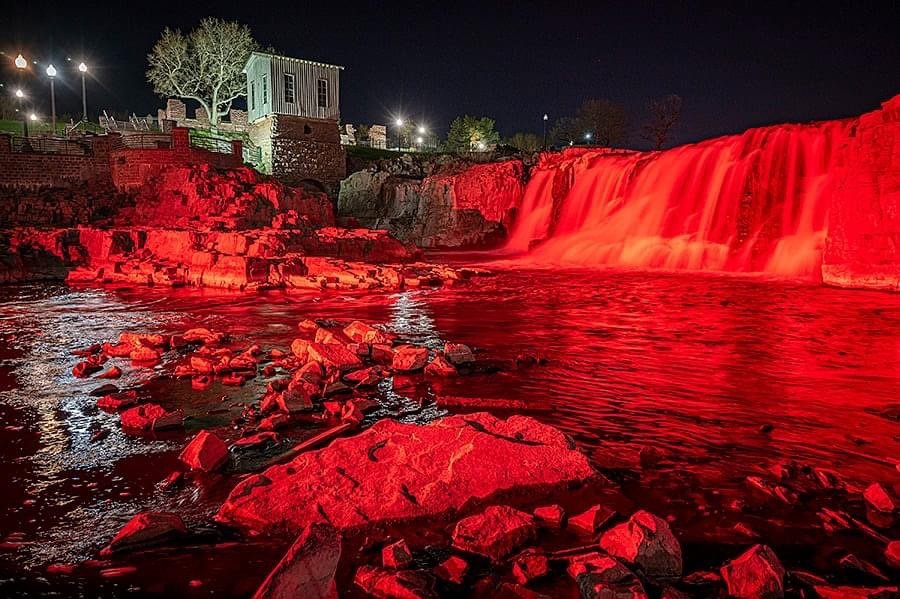 Joe Biden orders South Dakota landmarks turned red to celebrate Communism