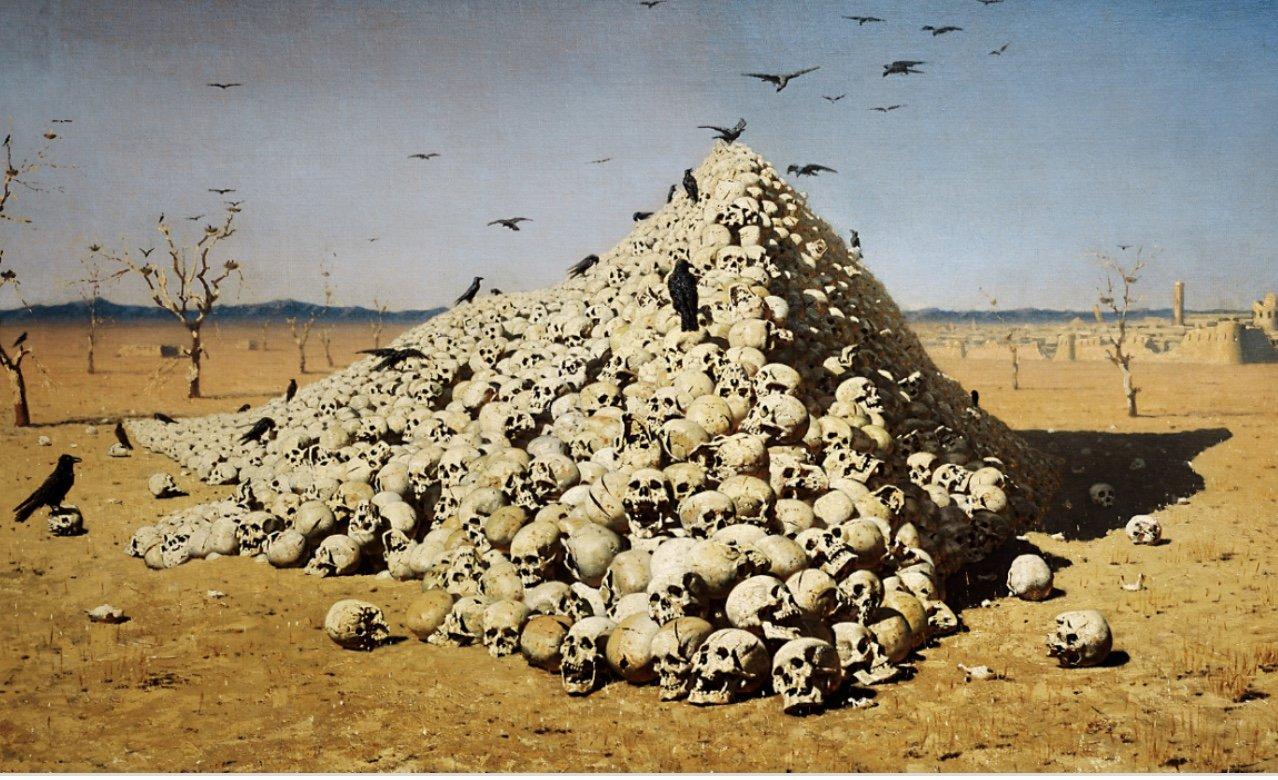 Low Water Reveals South Dakota's Lost Skull Pyramids