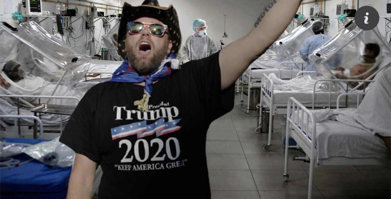 You are currently viewing If Biden Really Won the Election, How Come No One in This ICU Voted for Him?