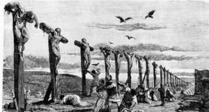 Biden orders January 6 rioters Crucified at Capitol